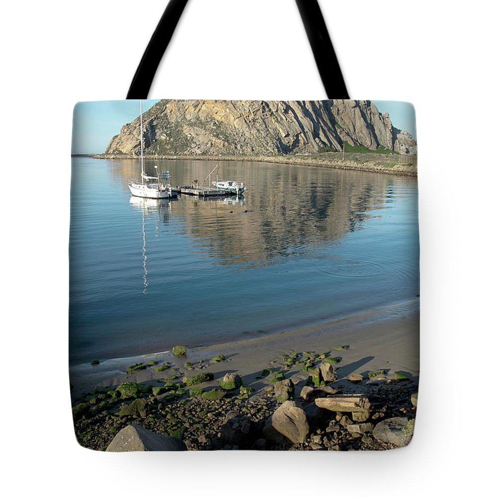 Barbara Snyder Tote Bag featuring the photograph Reflection Anchorage by Barbara Snyder