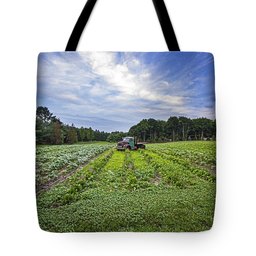 Reo Tote Bag featuring the photograph Reo Speedwagon by Robert Seifert