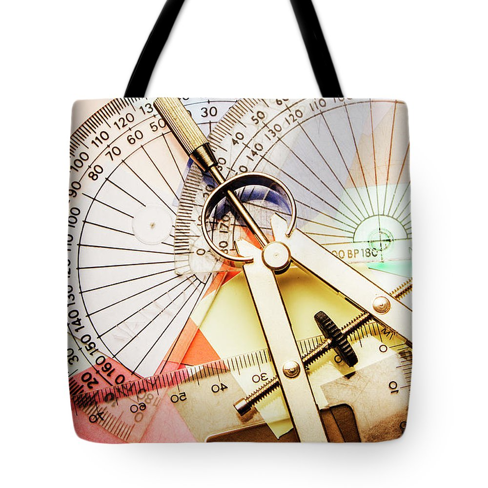 Development Tote Bag featuring the photograph Retro Interior Design by Jorgo Photography - Wall Art Gallery