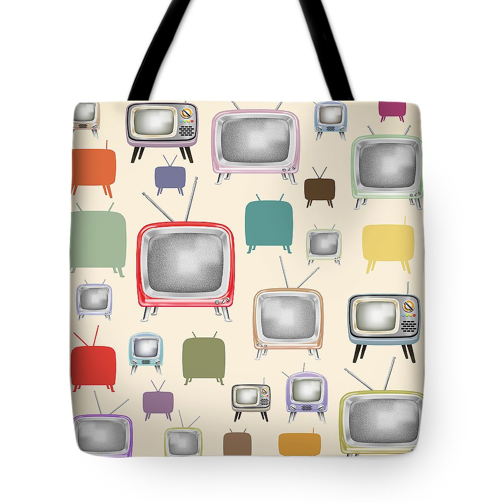 Button Tote Bags