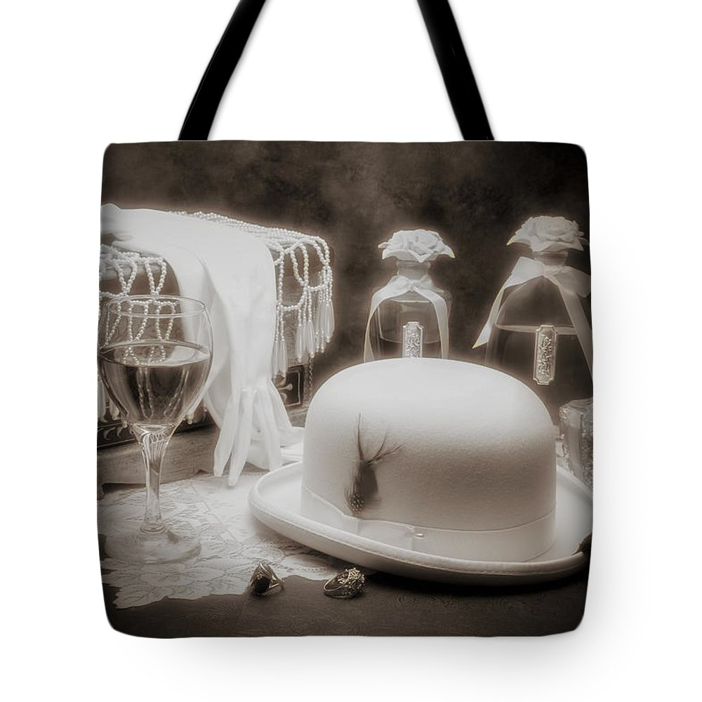 Hollywood Tote Bag featuring the photograph Revelry by Tom Mc Nemar