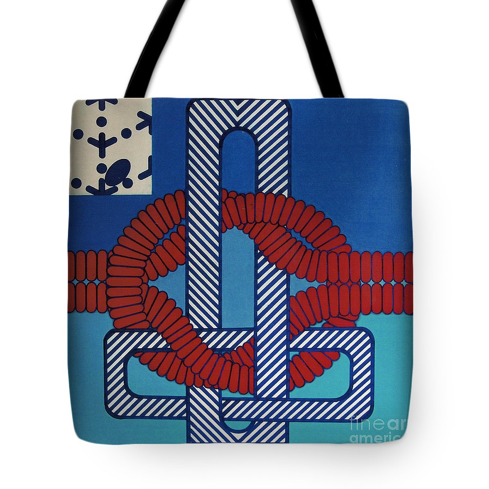 Abstract Tote Bag featuring the drawing Rfb0624 by Robert F Battles