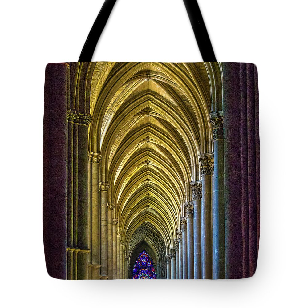 Cathedral Tote Bag featuring the photograph Rising Prayer by Jeanne Jackson