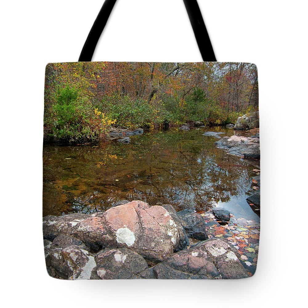 Missouri Tote Bag featuring the photograph Rocky Creek by Steve Stuller