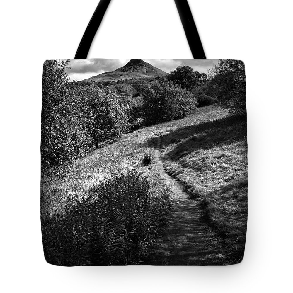 Roseberry Topping Tote Bag featuring the photograph Roseberry Topping by Smart Aviation