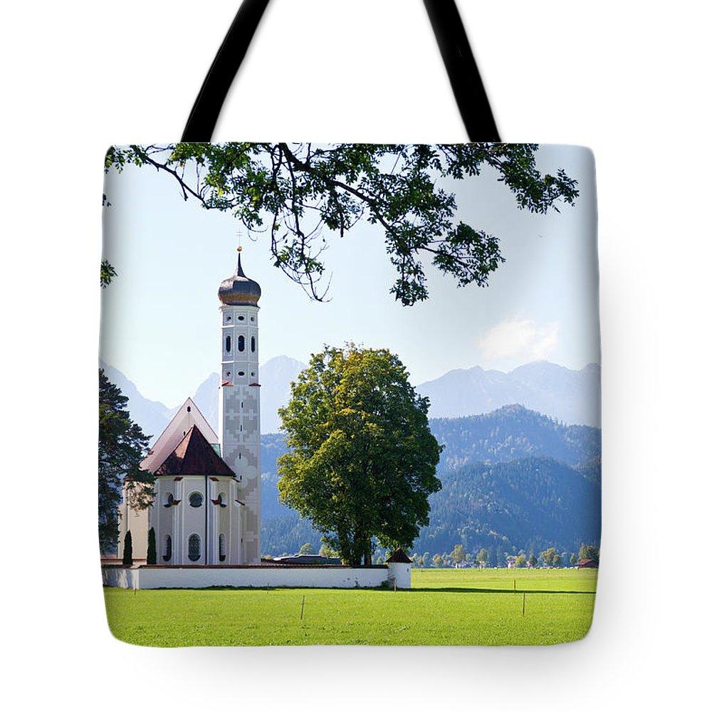 St. Tote Bag featuring the photograph Saint Coloman Church 2 by Bernard Barcos