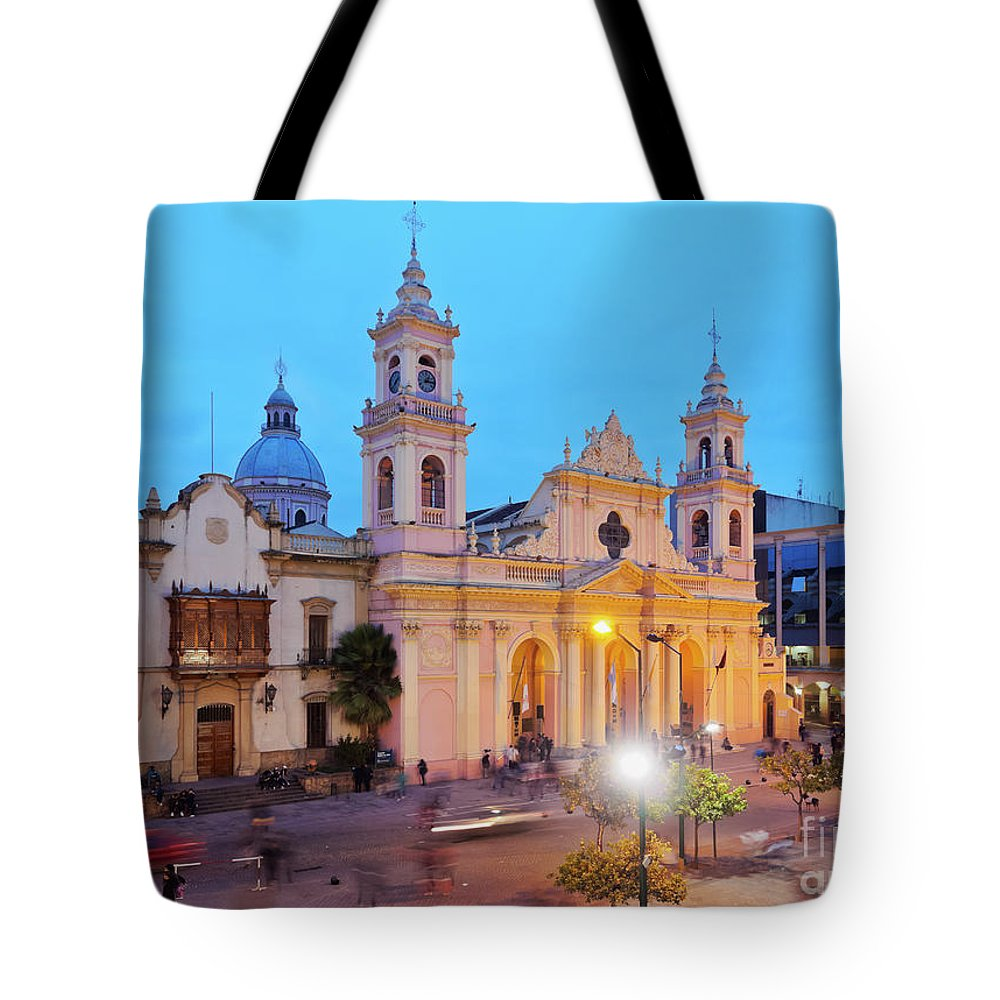 South America Tote Bag featuring the photograph Salta, Argentina by Karol Kozlowski