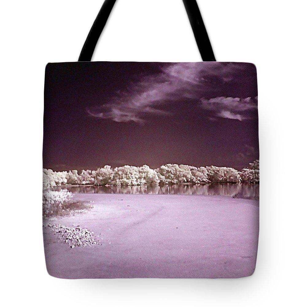 Landscape Tote Bag featuring the photograph Seascape by Galeria Trompiz