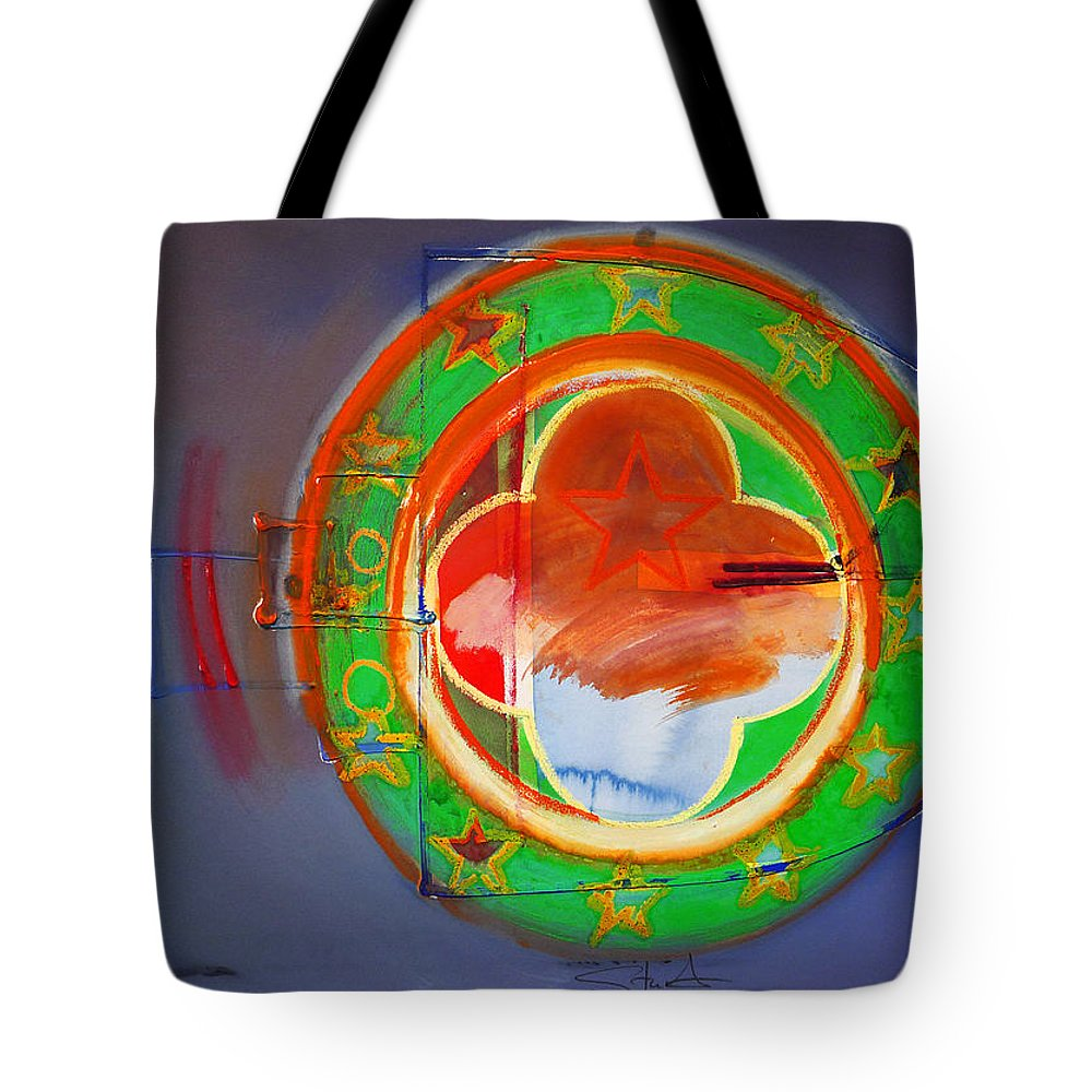 Symbol Tote Bag featuring the painting Ship Of State by Charles Stuart