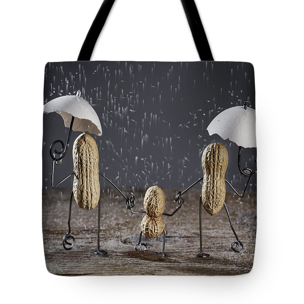 Simple Things Tote Bag featuring the photograph Simple Things - Taking A Walk by Nailia Schwarz