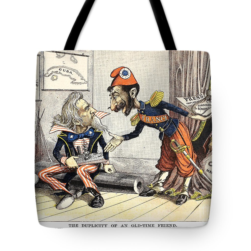 1898 Tote Bag featuring the photograph Spanish-american War, 1898 by Granger