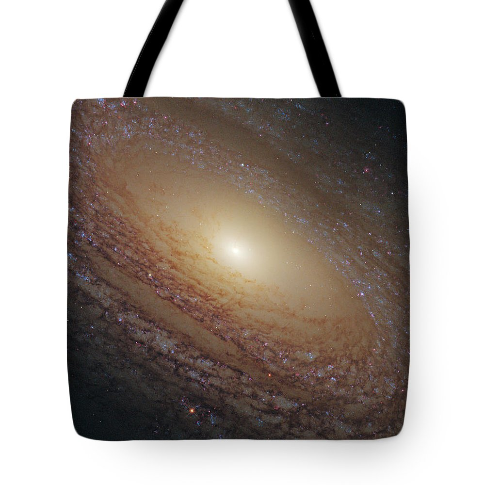 Hubble Tote Bag featuring the photograph Spiral Galaxy Ngc 2841 by Nasa