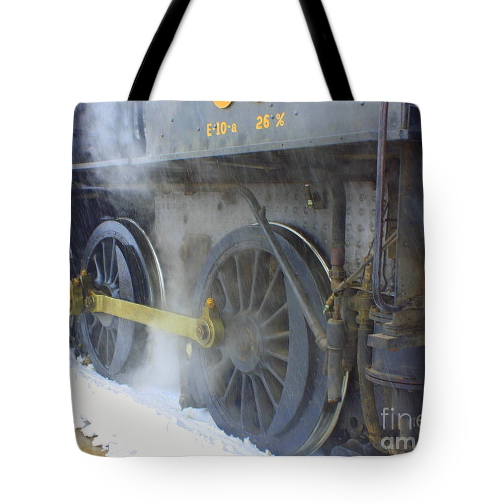 Lancaster April 2014 Tote Bag featuring the photograph Steam by William Rogers