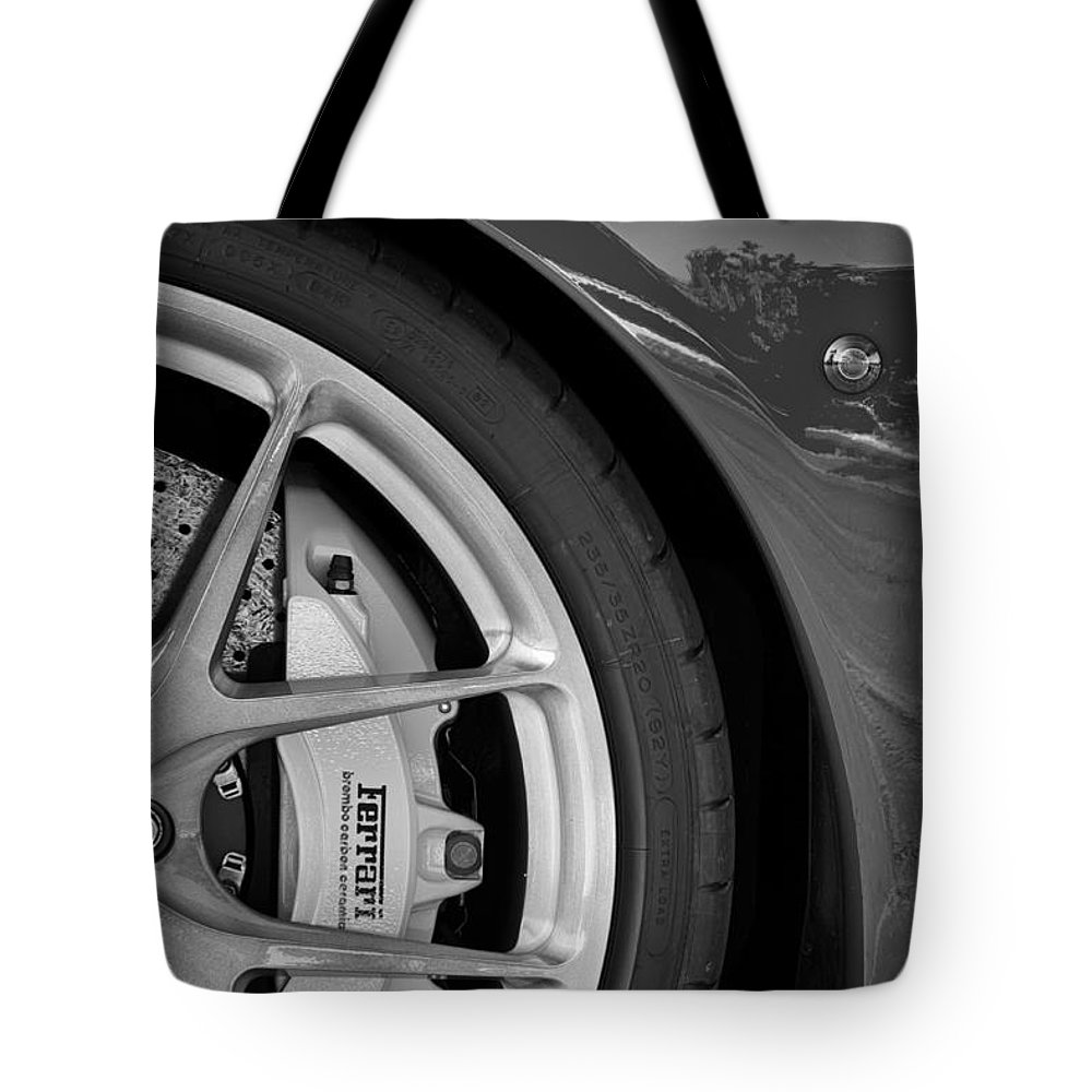 Ferrari Tote Bag featuring the photograph Stop It by Dennis Hedberg