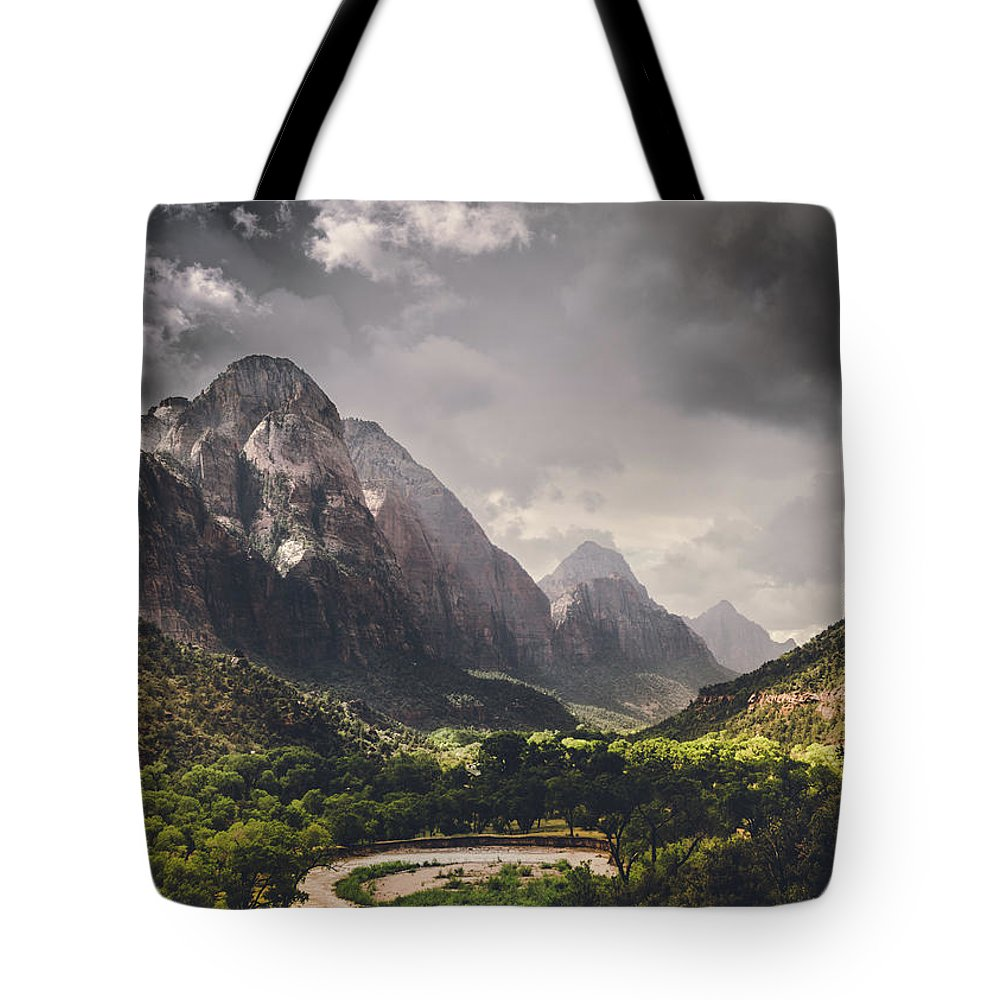 Storm Tote Bag featuring the photograph Storm Is Coming by Matthijs Bettman