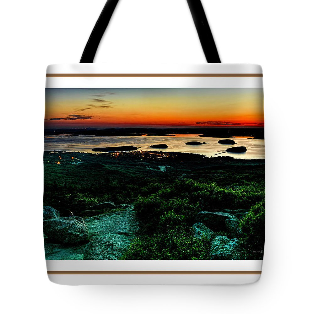 04-landscape Tote Bag featuring the photograph Sunrise by Myer Bornstein
