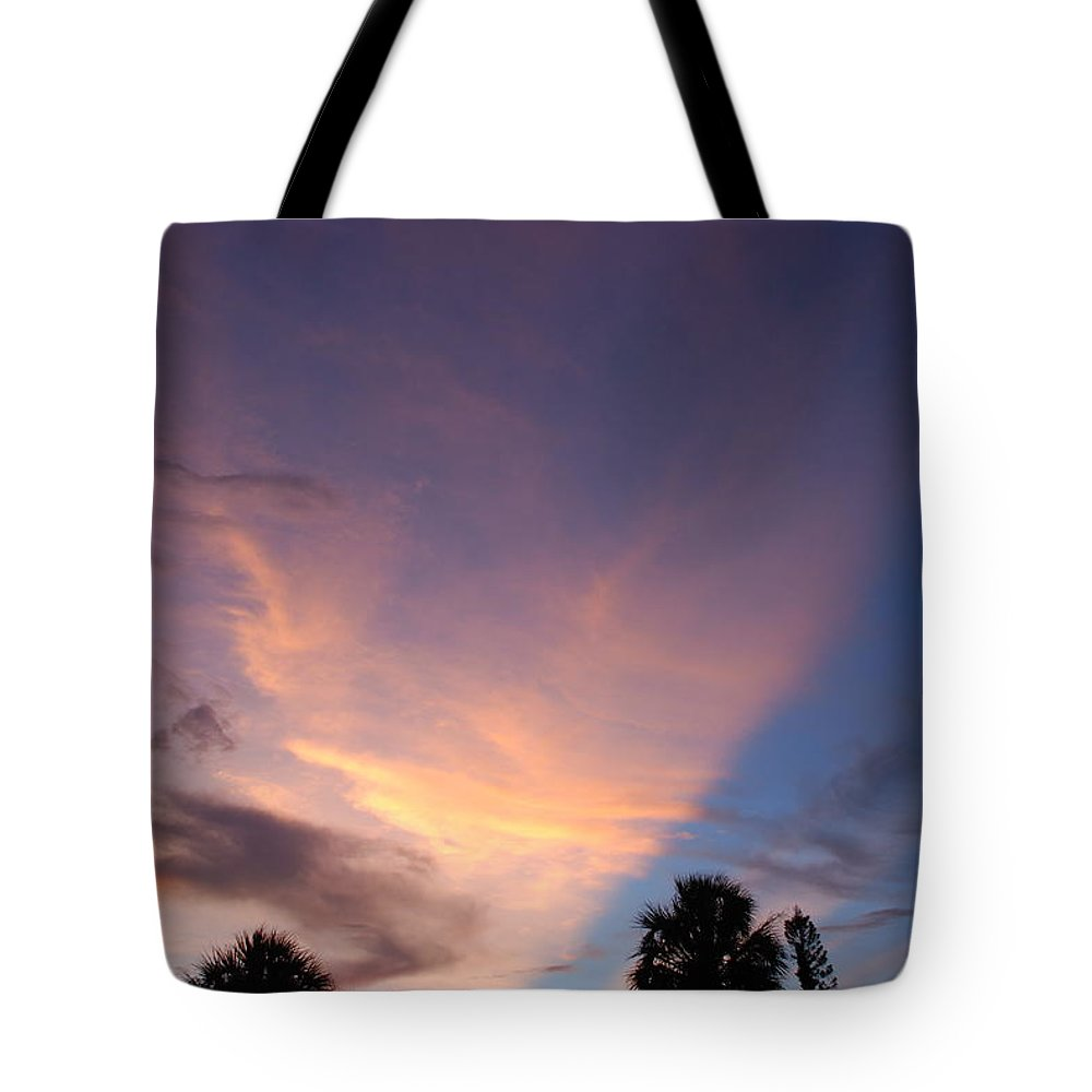 Sunset Tote Bag featuring the photograph Sunset At Pine Tree by Rob Hans