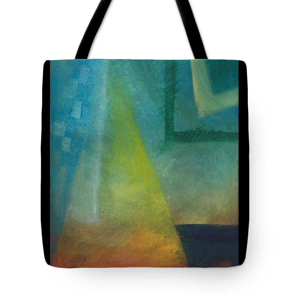 Sunset Tote Bag featuring the painting Sunset Sail by Tim Nyberg