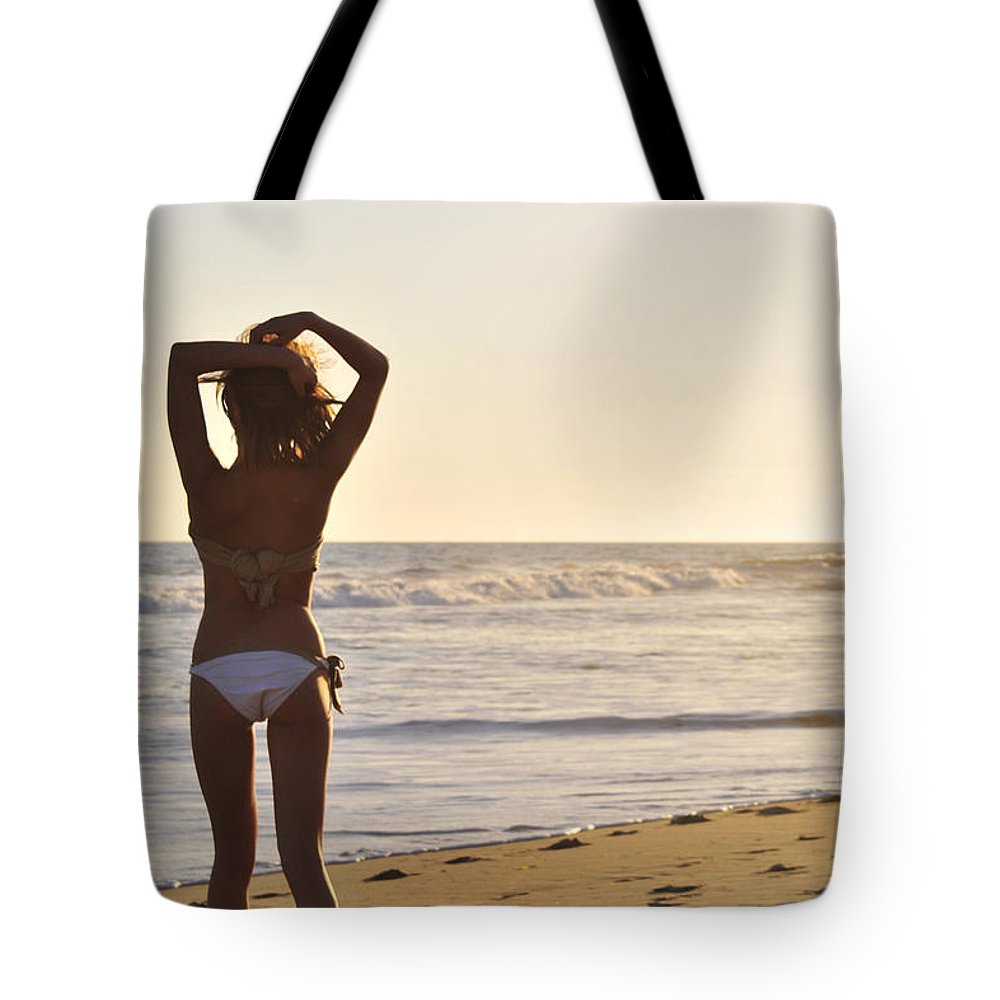 Glamour Photographs Tote Bag featuring the photograph Take Me Away by Robert WK Clark