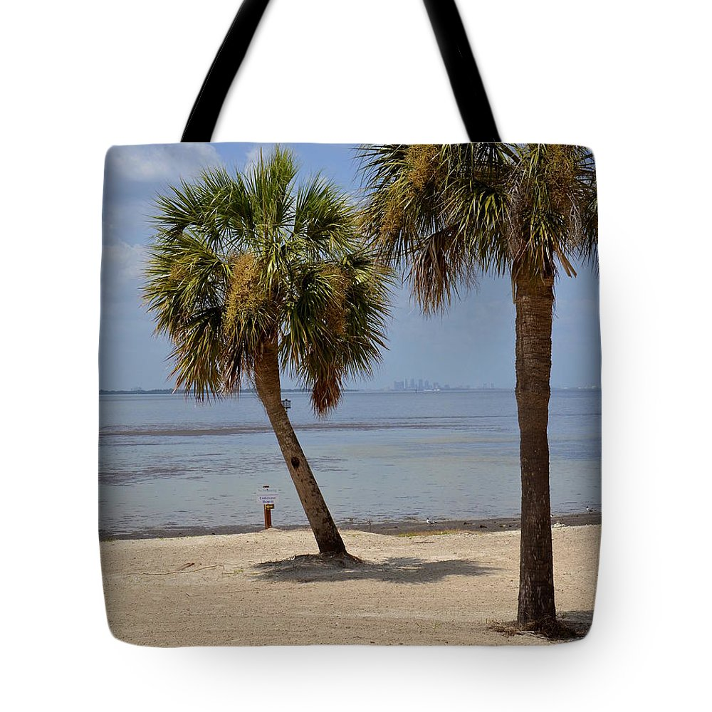 Bay Tote Bag featuring the photograph Tampa Bay by Carol Bradley