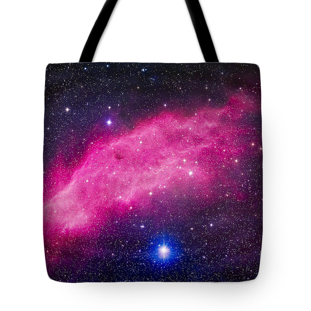 California Nebula Tote Bag featuring the photograph The California Nebula by Alan Dyer