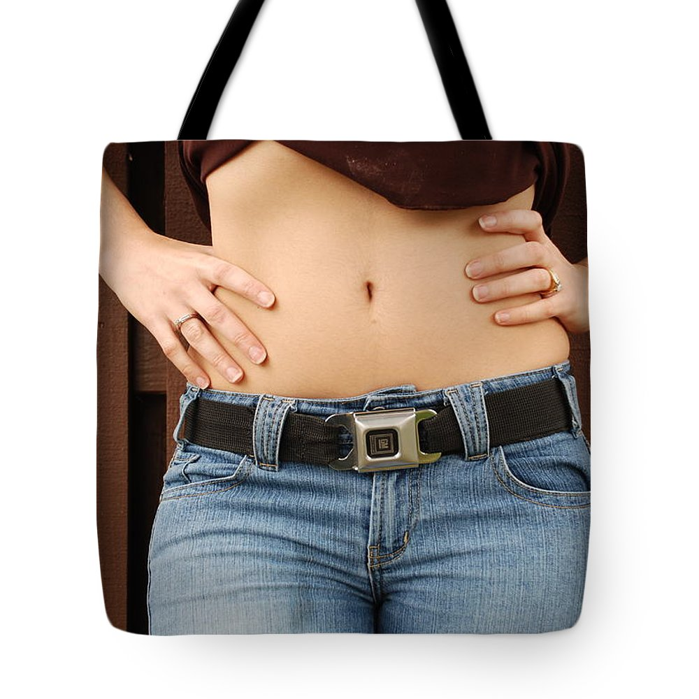Body Tote Bag featuring the photograph The G M Belt by Rob Hans