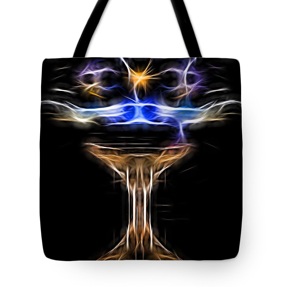The Holy Grail Tote Bag featuring the photograph The Holy Grail by Daniel Arrhakis