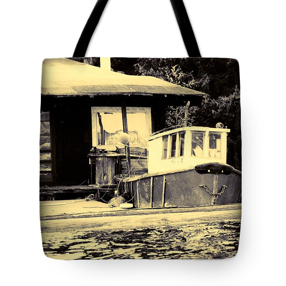 Tote Bag featuring the photograph The Retreat by Jessica Kristoff
