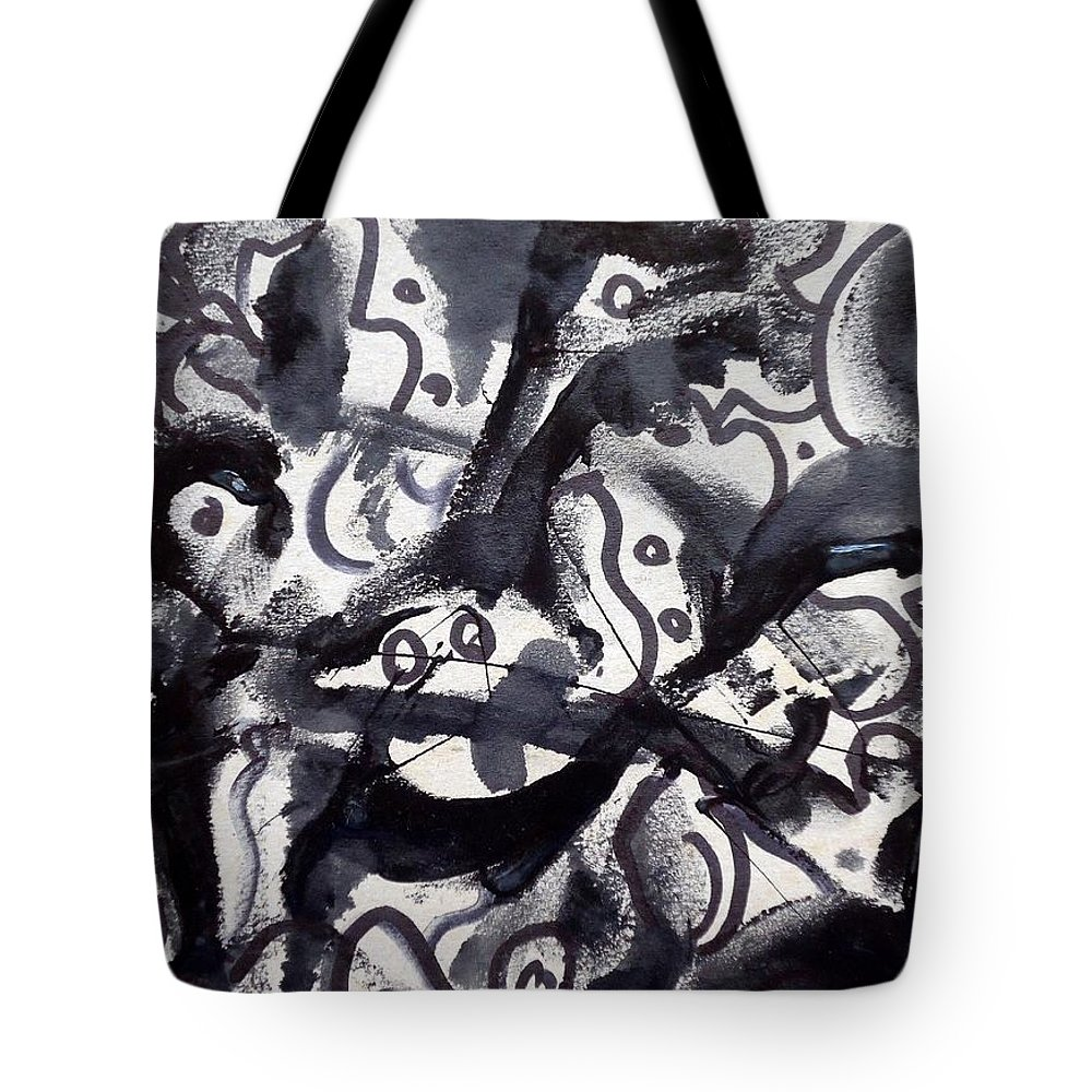 Art Trendsetting Universal Tote Bag featuring the painting The Veritable Aspects Of Uli Arts #219 by Mbonu Emerem