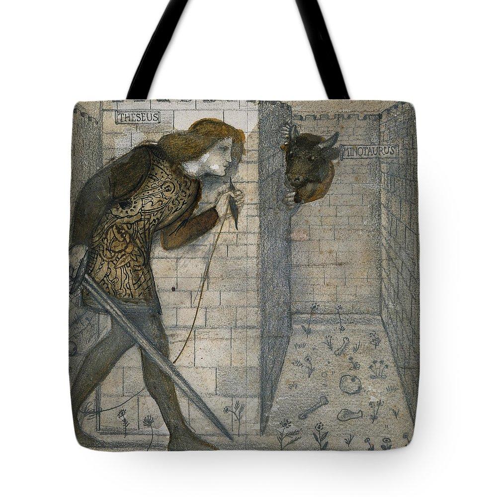 Minotaur Tote Bags
