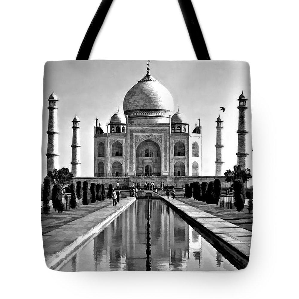 Taj Tote Bag featuring the photograph To Love... by Steve Harrington