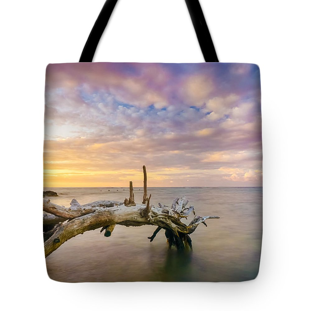 Ocean Tote Bag featuring the photograph Tranquility by Amanda Jones