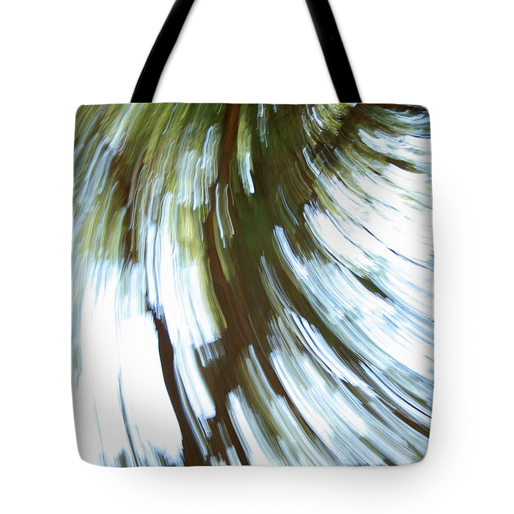 Tree Tote Bag featuring the photograph Tree Diptych 2 by Ric Bascobert