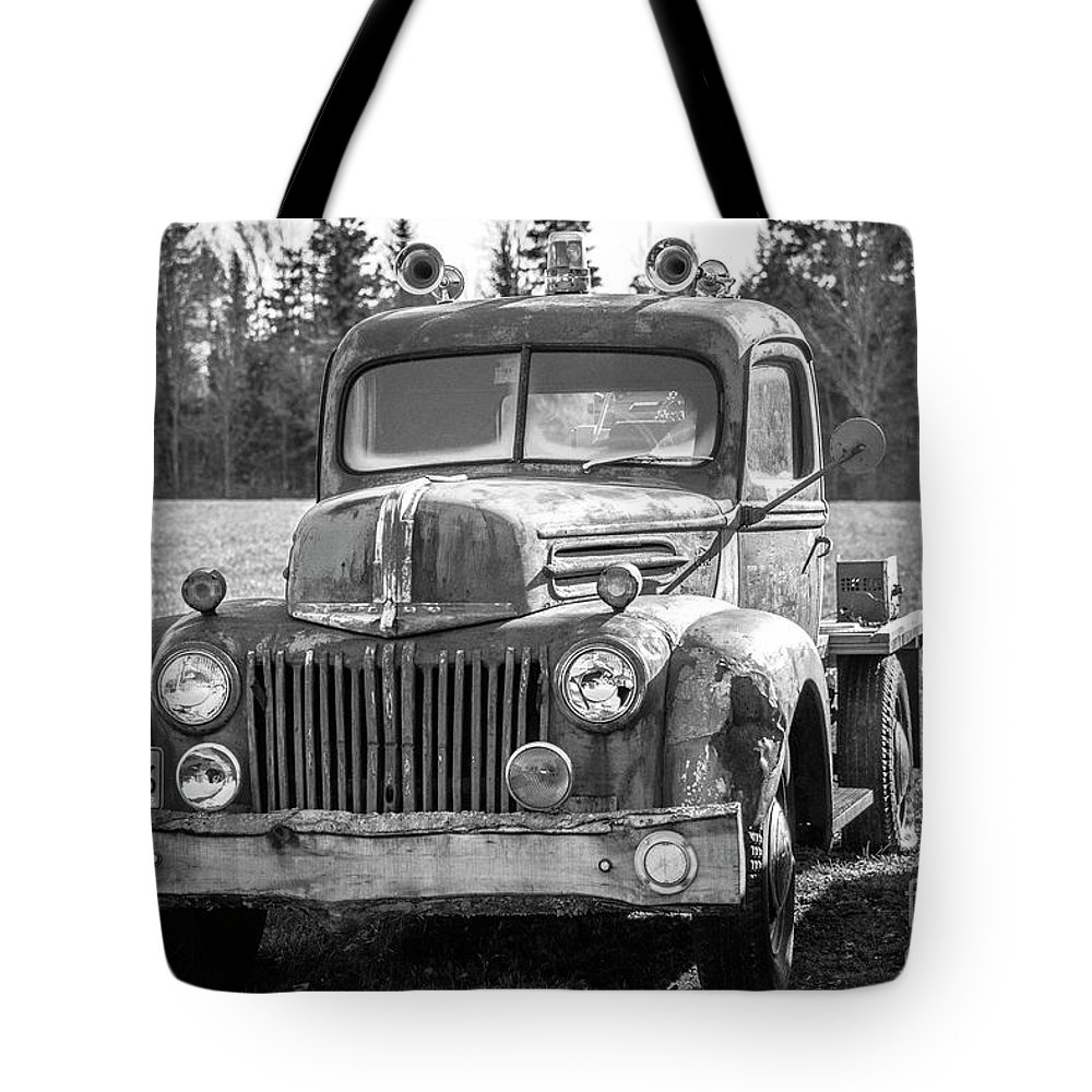 Maine Tote Bag featuring the photograph Truck by Alana Ranney