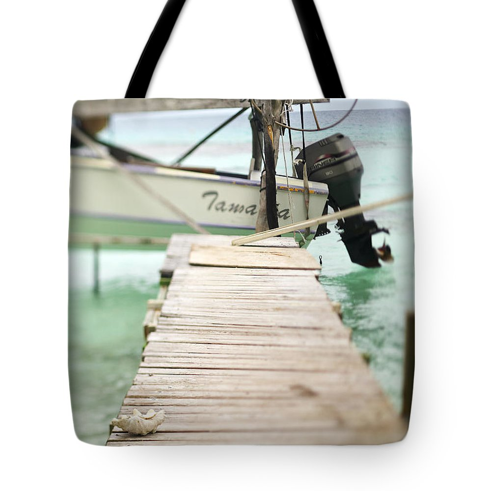 Afternoon Tote Bag featuring the photograph Tuamotu Isles by Kyle Rothenborg - Printscapes