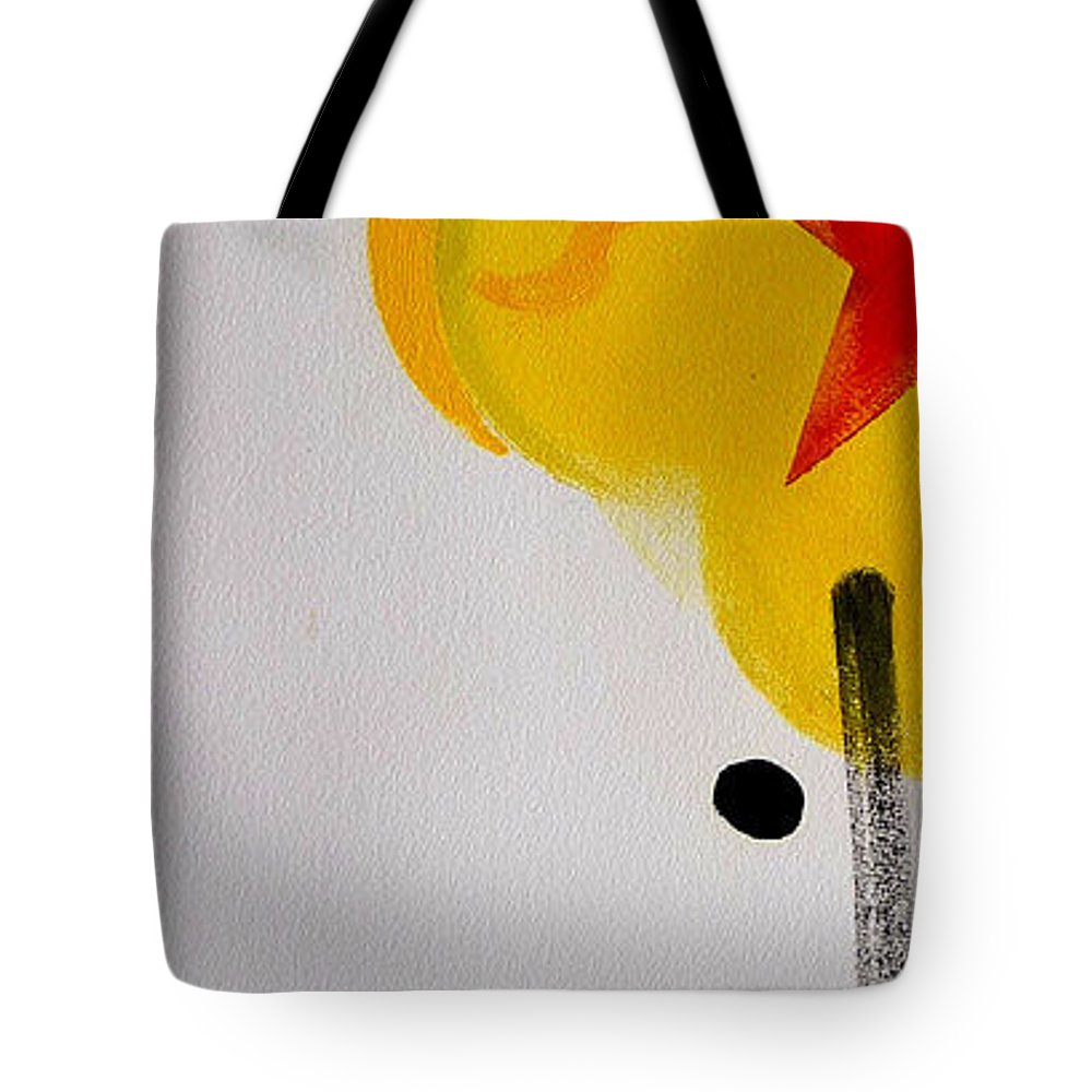 Drawing Tote Bag featuring the painting UN by Charles Stuart