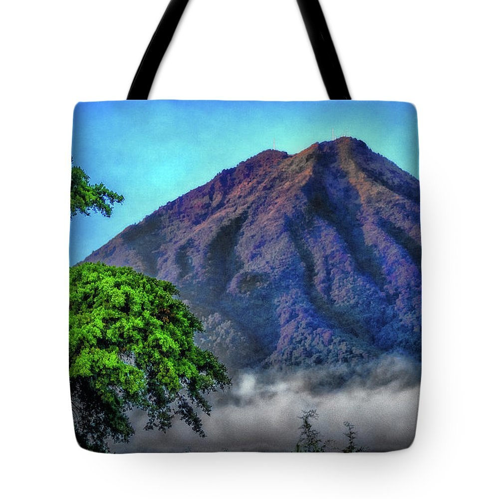Volcan De Agua Tote Bag featuring the photograph Volcan De Agua, Antigua Guatemala I by Totto Ponce