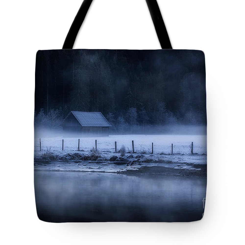 Austria Tote Bag featuring the photograph Winter Fairytale by Konstantinos Lagos