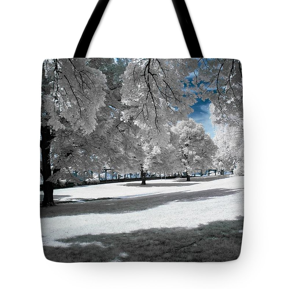 Winter Tote Bag featuring the photograph Winter by FL collection