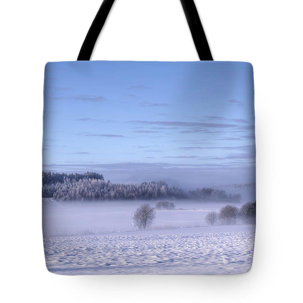 Art Tote Bag featuring the photograph Winter by Veikko Suikkanen