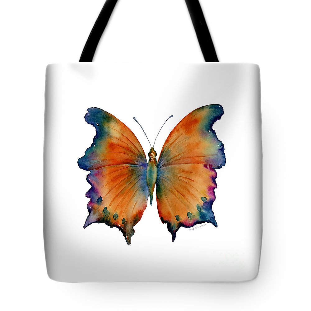 Wizard Butterfly Tote Bag featuring the painting 1 Wizard Butterfly by Amy Kirkpatrick
