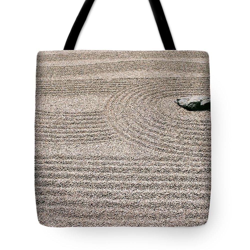 Zen Tote Bag featuring the photograph Zen Garden by Dean Triolo