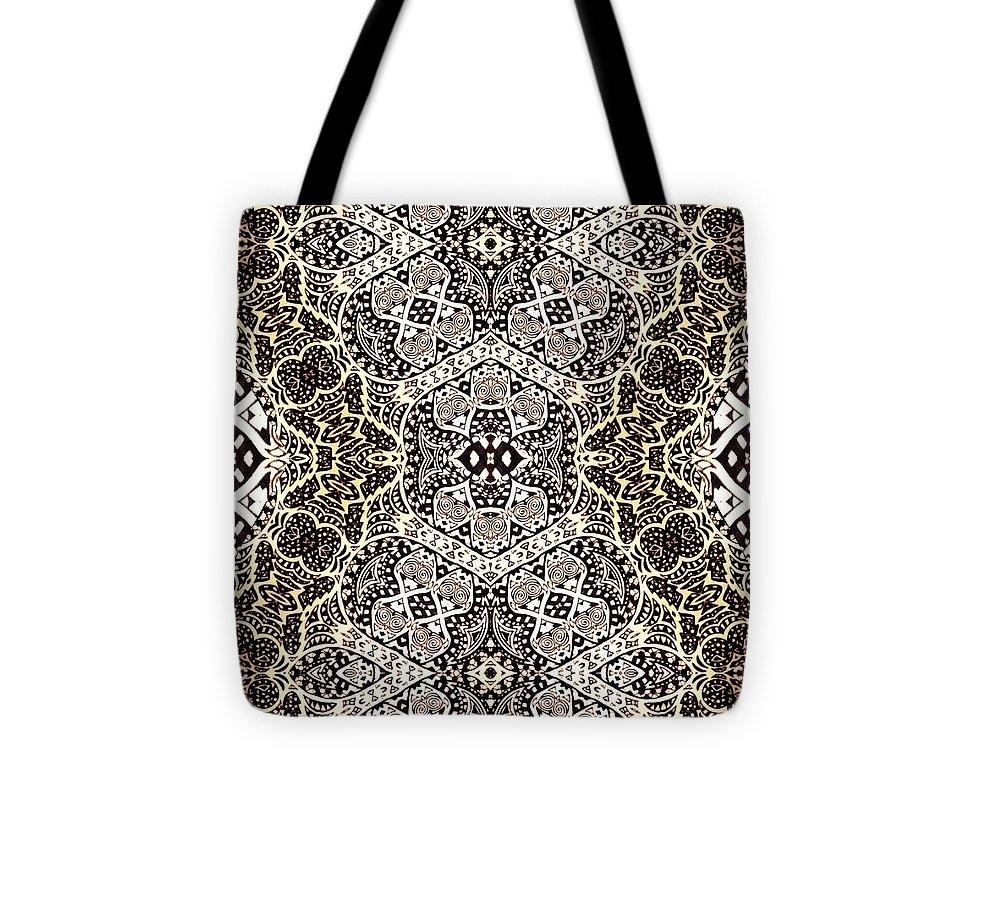 Art Tote Bag featuring the digital art South Seas by Sharon Bigland