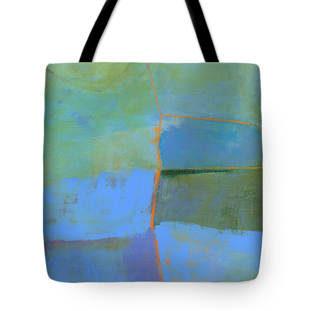 Painting Tote Bag featuring the painting 100/100 by Jane Davies