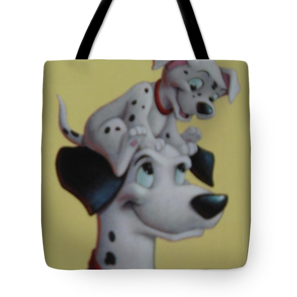 Disney Tote Bag featuring the photograph 101 by Rob Hans