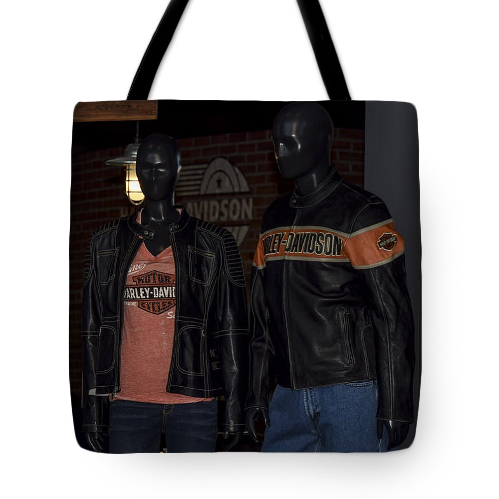 Mannequin Tote Bag featuring the photograph Screw It, Just Ride by Marit Runyon