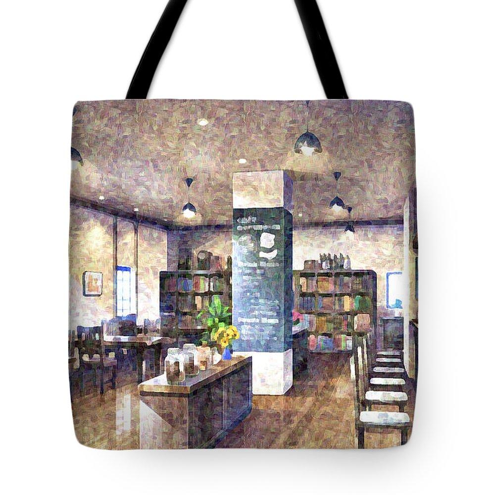 Original Tote Bag featuring the digital art Original by Lora Battle