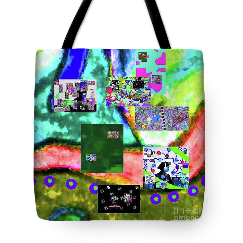 Walter Paul Bebirian Tote Bag featuring the digital art 11-11-2015abcdefghijklmnopqrtuvwxyzabcdefghijk by Walter Paul Bebirian
