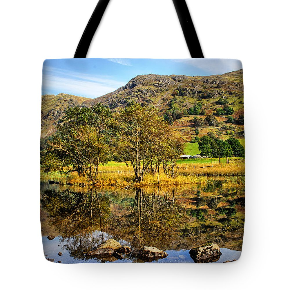 Brothers Water Tote Bag featuring the photograph Brothers Water by Smart Aviation