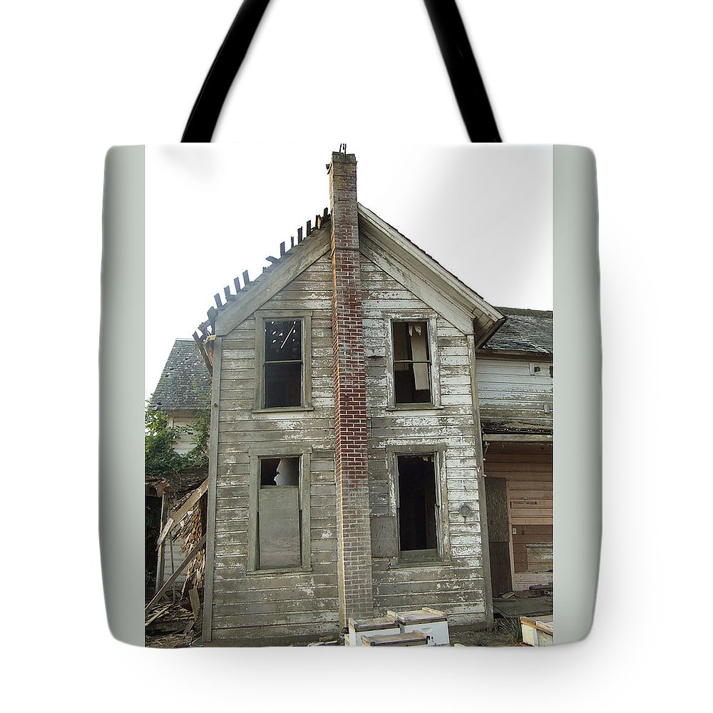 Lp Cover Art Tote Bag featuring the photograph Your Band Name Here Lp Cover Art by Everett Bowers